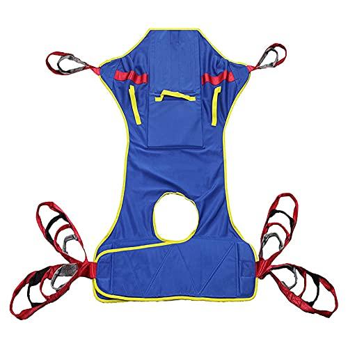 SXFYGYQ Cinturón De Transferencia De Elevación - Grúa De Paciente - Paciente Cinturón De Transferencia para Bariátrico, Enfermería,Anciano, Discapacitado, Cuerpo Completo Y Postrado En Cama