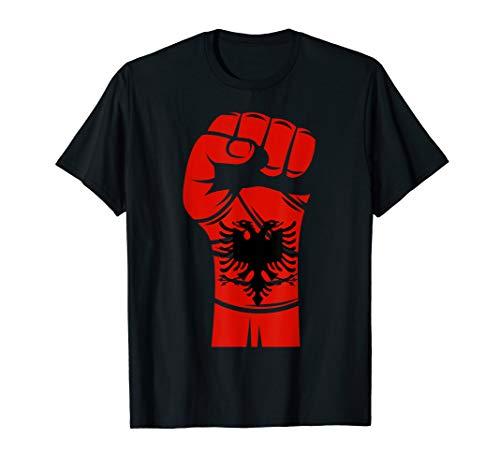 Albanien Tshirt Albania Flagge Tattoo T-Shirt