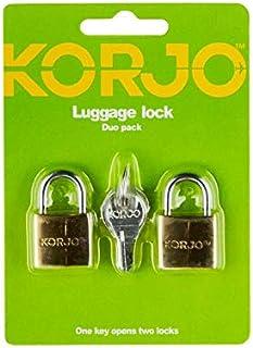Korjo Luggage Lock, 5 Centimeters, Bronze