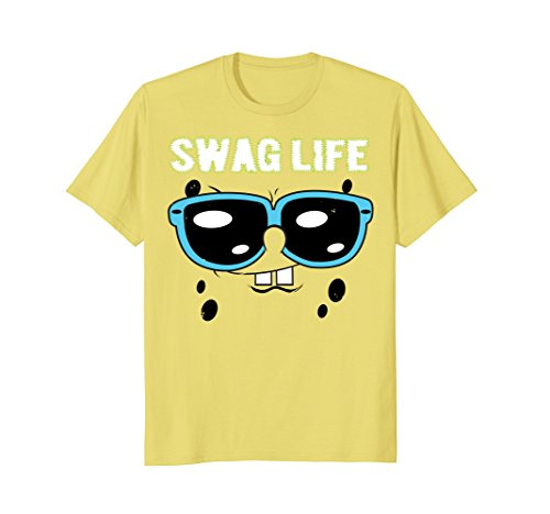 Spongebob SquarePants Swag Life Sunglasses T-Shirt