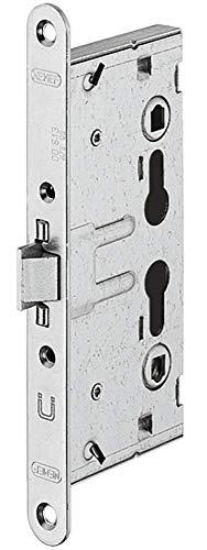 JUVA Einstemmschloss Feuerschutz-Abschlusstüren Einsteckschloss Brandschutz-Türen T30 | PZ - Zylinder | FH-Schloss Klasse 3 | Dornmaß 65 mm | MADE IN GERMANY | 1 Stück - Türschloss Metall verzinkt