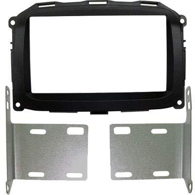 Mascherina autoradio 2 DIN Kit installazione senza cornice per radio con monitor motorizzato.