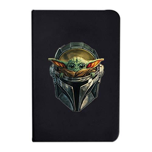 Cuaderno - Star Wars: The Mandalorian,Diario,Cuaderno Yoda,Cuaderno de Tapa Dura,14*9.5,110 G