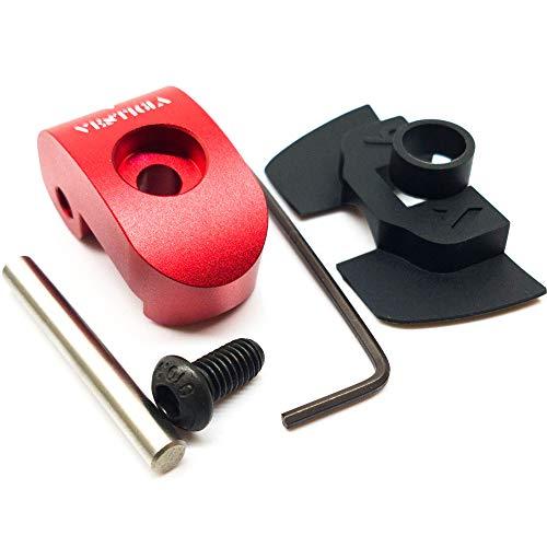 Vestigia® - Reforzado Gancho Lock Latch Enganche de Sustitución para M365, 1S, Essential, Pro Patinete, Bisagra Hebilla de la Cerradura ☆☆ Rediseñado para Hacer más Fuerte ☆☆