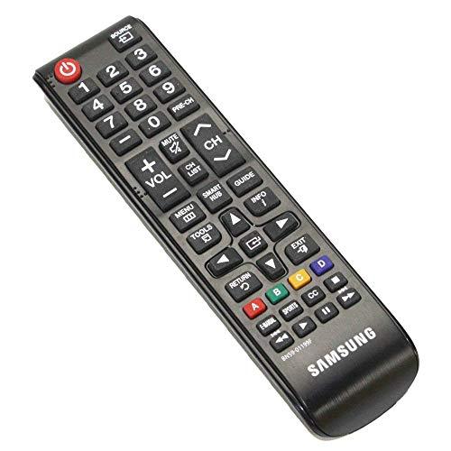 Samsung TV Remote Control (BN59-01199F) for UN32 to UN65 Models - Black (Renewed)
