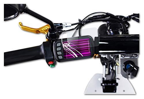 atFoliX Protection Écran Film de Verre en Plastique Compatible avec eFlux Freeride X2 Verre Film Protecteur, 9H Hybrid-Glass FX Protection Écran en Verre trempé de Plastique