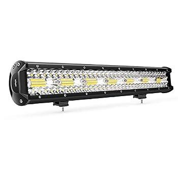Penton 160w 24  Inch Led Light Bar Work Lights Flood Spot Combo Beam Waterproof Dc 10v-30v 3w40 12000 Lumen for 4wd SUV UTE Offroad Truck ATV UTV