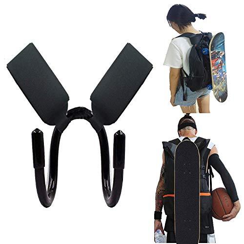 AUXPhome Rucksack-Befestigungshaken für Mini Cruiser, Cruiser Board, Skateboarden und Longboarden – passend für die meisten Rucksäcke – einfach zu bedienen – kein Rucksack