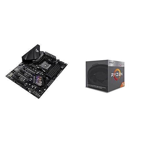 Pack Placa Base ASUS y Procesador AMD:ROG Strix B450-F Gamin