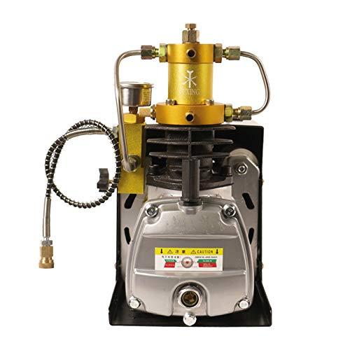 Compresor de aire automático de alta presión, 30 MPA, bomba de aire eléctrica de alta presión, 4500 psi, PCP, 300 bar, bomba de compresor de PCP, inflador para botella de inflado, 220 V (6,8 L)