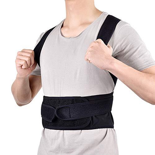 WCX Cinturon Lumbar Ajustable Cintura de Soporte Cinturón para la Espalda Ayuda de la...