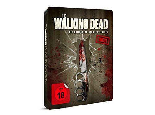 The Walking Dead - Die komplette sechste 6 Staffel - Exklusiv Steelbook mit Messer Artwork (4000 Stk) - Uncut - Blu-ray