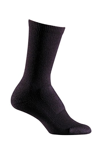 Fox River Women's Merino Hiker Crew, Black, Large