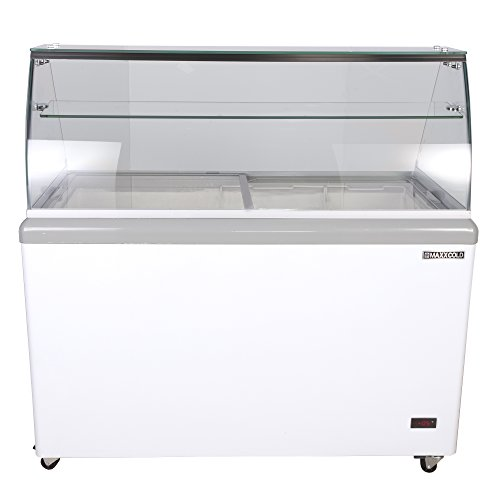 Maxx Cold MXDC-8 8 Flavor 14 cu ft Commercial Ice Cream Dipping Cabinet Freezer