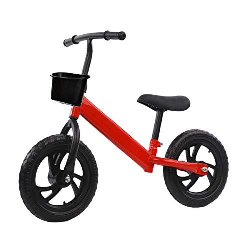 QHY Kinder Laufrad Gehhilfe Kinder Reiten Auf Spielzeug Geschenk Zum 2-7 Jahre Alt Kinder Zum Lernen Zwei Rad Nein...