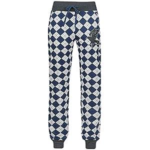 HARRY POTTER Ravenclaw Mujer Pantalón de Pijama Gris/Azul 5