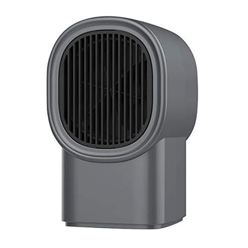 XIJING Calentador de Ventilador eléctrico de 400 W/Mini Calentamiento de Escritorio, Calentamiento...