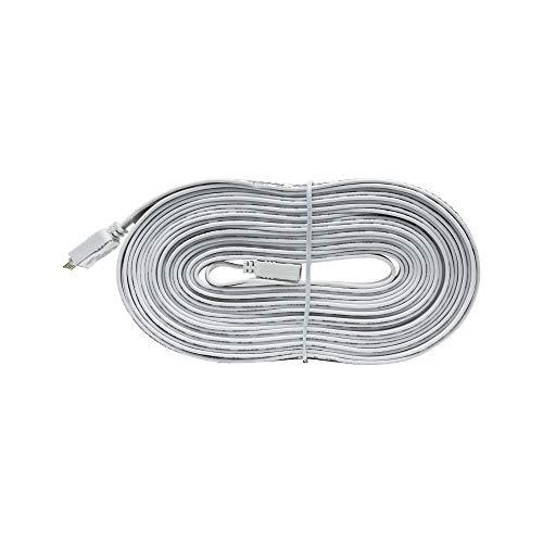 Paulmann 70574 MaxLED Verbindungskabel für LED Strip 5 m Verlängerungskabel Stripe Zubehör Überbrückung Weiß Ausgleich von Unebenheiten 5-Polig