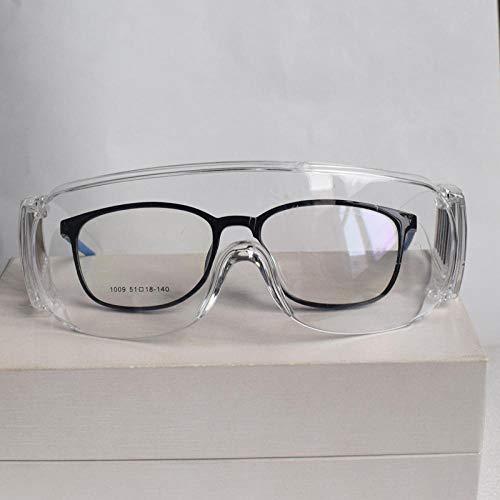 Goggle veiligheidsbril, volledig gesloten, anti-condens, anti-stof, anti-spel, anti-zand, veiligheidsbril Fh4 Trasparente