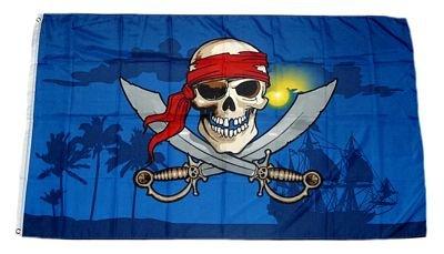 Flagge / Fahne Pirat Karibik 90 x 150 cm
