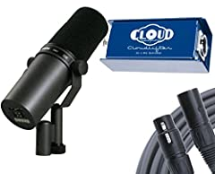 "Bass rolloff and mid-range emphasis (presence boost) controls with graphic display of response setting Internal ""air suspension"" shock isolation virtually eliminates mechanical noise transmission Highly effective pop filter eliminates need for any ad..."
