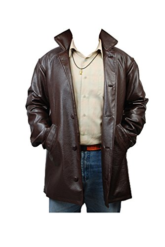 Supernatural Dean Winchester Pleather Jacke Coat Cosplay Kostüm Herren M
