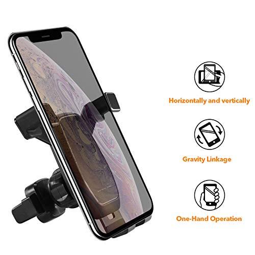Anker Supporto da Auto Universale per Smartphone - Supporto Auto Porta Telefono a Morsa Con Applicazione a Bocchette d'Aria per...