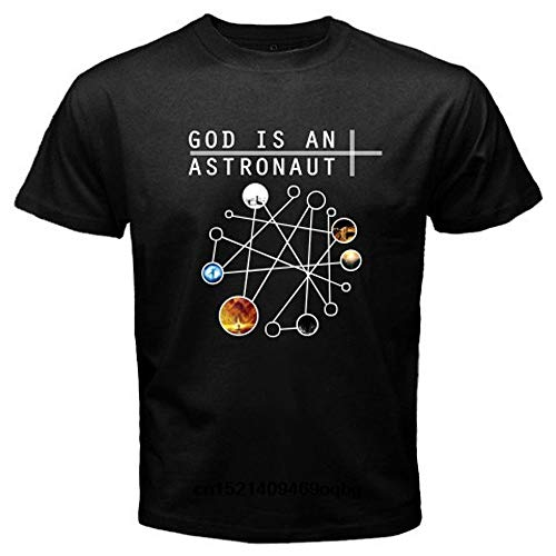 T Shirt God is an Astronaut Post Rock Instrumental Band 3D Print Short Sleeve Tee Shirts T Shirt Black L