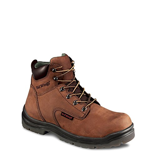 Men's 6' Work Boot (RW 2234, 2235) Electrical Hazard, Non Metallic Toe (10.5D, Poplar Frontier LTHR)