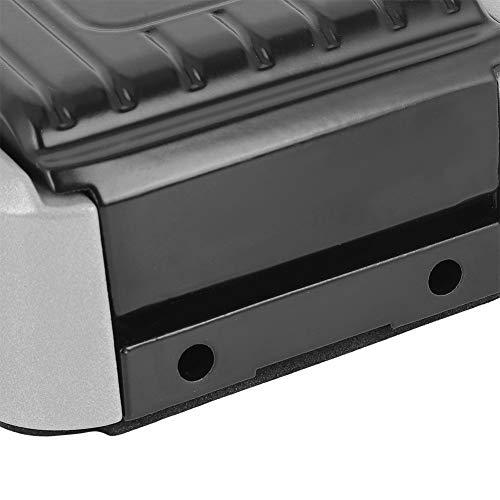 Weikeya Caja de llaves ajustable, unidad USB de 19 x 9 x 4 cm, caja de bloqueo de llaves de casa, caja de aluminio y silicona (negro)