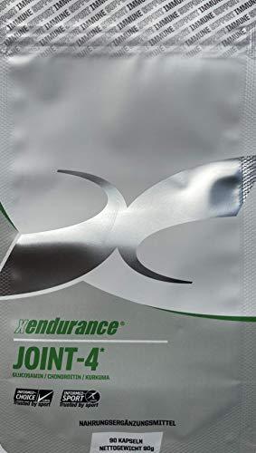 Xendurance Wellness Joint-4, Glucosamin, Chondroitin, Kurkuma, MSM, Vitamin C, Vitamin D, 90 Kapseln, 30-Tage-Versorgung