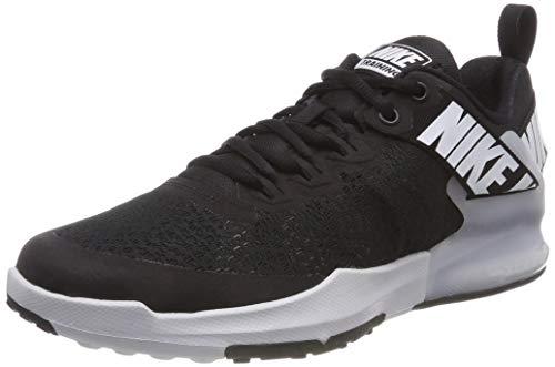 Nike Zoom Domination TR 2, Zapatillas de Gimnasia Hombre, Negro (Black/White/Dk Grey 001), 44 EU