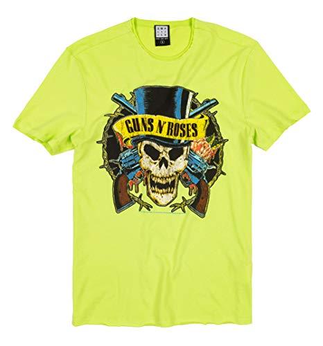 Green Guns N Roses Death Skull T Shirt