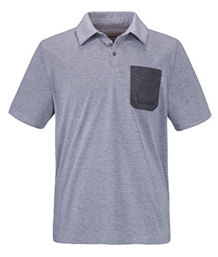 Schöffel Herren Bilbao Polo Shirt, Mittelgrau-Melange, M