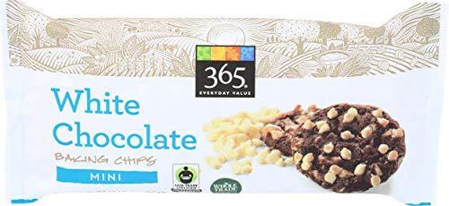 365 Everyday Value, White Chocolate Mini Baking Chips, 12 oz