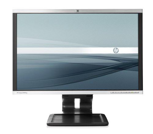 HP LA2405wg 61,0 cm (24 Zoll) Widescreen TFT Monitor (VGA,DVI, Kontrastverhältnis 1000:1, Reaktionszeit 5ms) schwarz/Silber