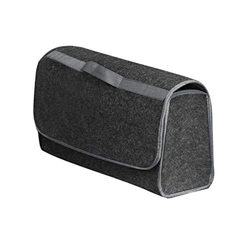 xiaoying Almacenamiento portátil Coche Plegable Multiuso Fieltro Camión Caja de Almacenamiento de Herramientas Caja de almacenaje...