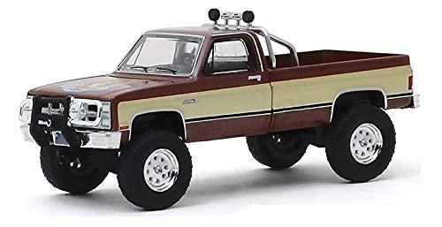 Greenlight 44860-F Fall Guy Stuntman Association - 1982 GMC K-2500 1:64 Scale Diecast