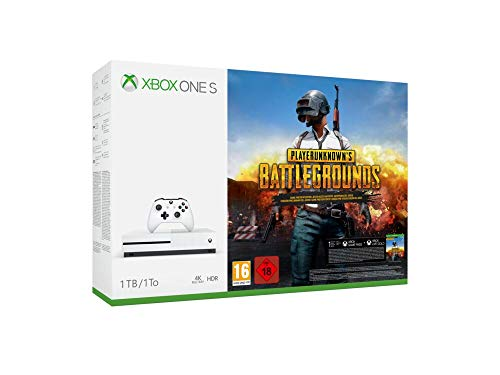 Xbox One S 1tb White + Playerunknown's Battlegrounds