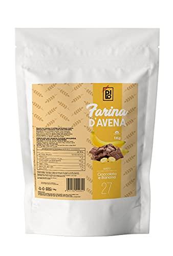 DILO Farina di Avena Aromatizzata Cioccolato e Banana 1kg