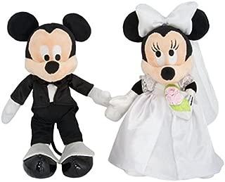 Disney Parks Mickey & Minnie Mouse Wedding Plush Set