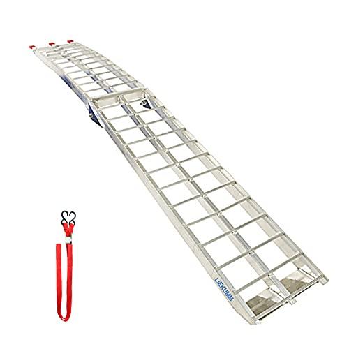 LIEKUMM Rampa plegable para todoterreno, rampa de alimunio, camión, motocicleta, carga, capacidad...