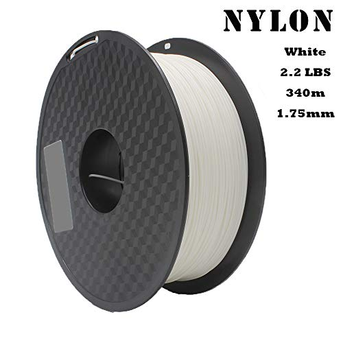 REPRAPPER White Nylon 3D Printing Filament 1.75mm 1kg 340m