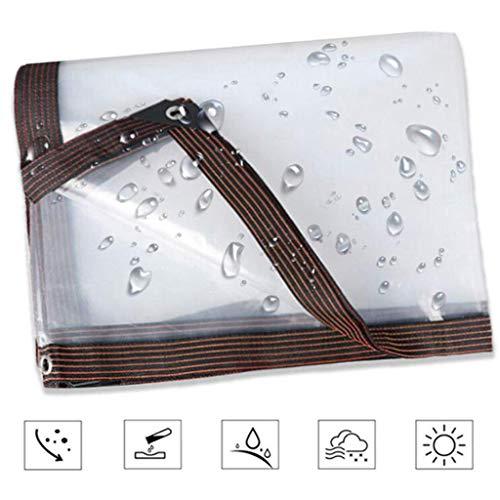 QI-CHE-YI Tarps Balkon Regen Cover Artifact Waterdichte Poncho Regengordijn 120G / M2 Transparant Winddicht Huishouden 5 Mils Outdoor Voorruit