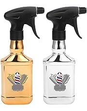 Botella de spray de peluquería - Pulverizador de agua de salón Botella de agua de barbero vacía Aerosol multifuncional Botella de niebla recargable Hervidor de agua para estilizar el cabello