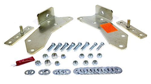 """Performance Accessories, Chevy/GMC Rear Bumper Bracket Kit Full Size P/U Only 3"""" Body Lift Kit, fits 1988 to 1998, PA10003, Made in America"""