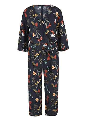 s.Oliver RED Label Damen Jumpsuit mit floralem Print, navy - 3