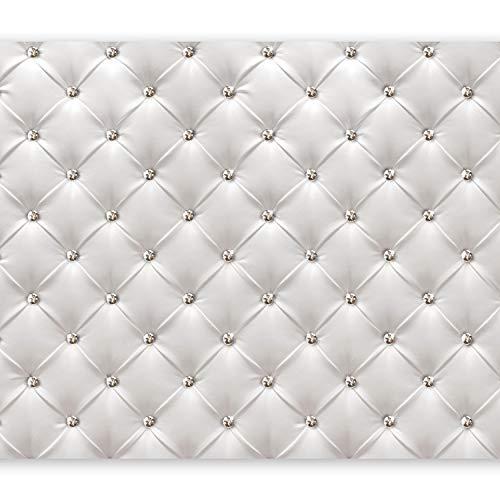 murando Carta da parati 350x256 cm Fotomurali in TNT Murale alla moda Decorazione da Muro XXL Poster Gigante Design Carta per pareti pelle bianco moderno f-B-0039-a-a