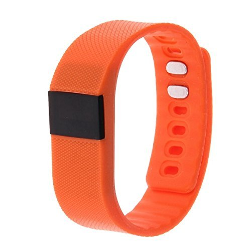 NEW TW64 Waterproof Bluetooth 4.0 Smart Watch Smartband Smartwatch Pedometer Anti Lost for iOS Samsung Android Smartphone (Orange)