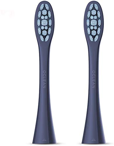 Oclean X Pro Sonic Electric Toothbrush Replacement-2 Set- Blue